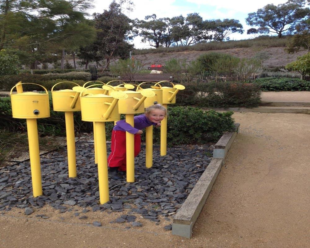 Fun at Cranbourne Botanical Gardens